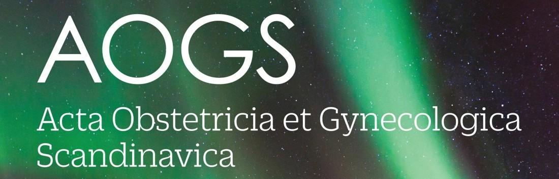 Online adgang til AOGS – Acta Obstetrica et Gynecologica Scandinavica