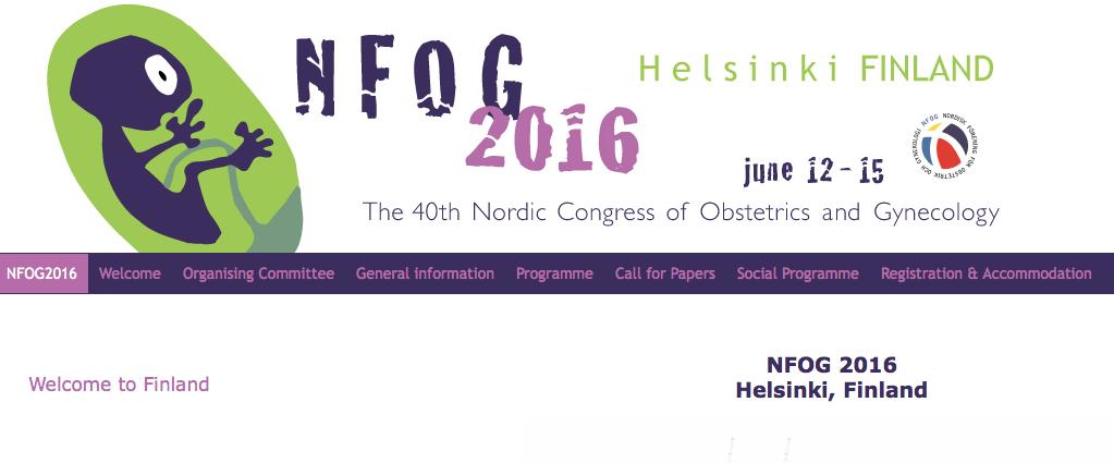NFOG Helsinki 2016